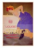 """Poster for """"Liquore Strega"""" Giclee Print"""
