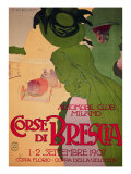 Corse Di Brescia Giclee Print