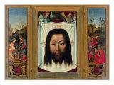 Triptych of Francesco Del Pugliese (Christ and the Samaritan. Veil of Veronica. Noli Me Tangere) Giclee Print by Leonetto Cappiello