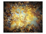 The Olympus Giclee Print by Luca Della Robbia