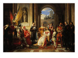 Torquato Tasso at the Court of Ferrara Giclee Print
