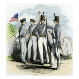 Cadets at the Us Military Academy, West Point, 1850s Giclee Print