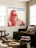 Lightnin' Hopkins - Straight Blues Wall Mural
