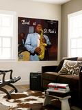Charlie Parker, Bird at St. Nick's Wall Mural