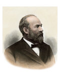 Us President James A. Garfield Giclee Print