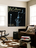 John Coltrane - The Paris Concert Wall Mural