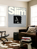 Memphis Slim - Raining the Blues Wall Mural