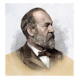 James A. Garfield as President-Elect, 1880 Giclee Print