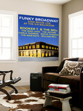 Funky Broadway Wall Mural