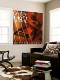 George Mraz - Bottom Lines Wall Mural