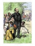 "Presidential Candidate James Garfield as ""The Friend of the Freedman,"" 1880 Giclee Print"