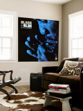 Little Sonny - Black and Blue Wall Mural