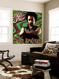 Leon Spencer - Legends of Acid Jazz: Leon Spencer Wall Mural