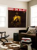 Charlie Parker - Bird on 52nd Street - Duvar Resmi