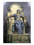 Odin, Supreme God in Norse Mythology Giclee Print