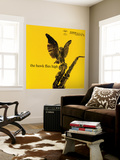 Coleman Hawkins - The Hawk Flies High Mural