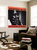 Memphis Slim - All Kinds of Blues Muurposter