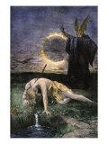 Siegfried, the Warrior Slain by Hagen in Germanic Legend Giclee Print