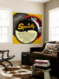 Specialty Nocturne HiFi Sampler Wall Mural
