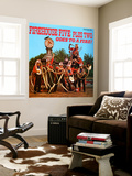 Firehouse Five Plus Two - Goes to a Fire! Wall Mural