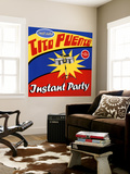 Tito Puente - Instant Party Wall Mural