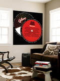 Galaxy Milestone Sampler Wall Mural