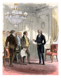 President Jackson Receiving Delegates in the White House Giclee Print