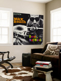 Max Roach - Deeds, Not Words Wall Mural