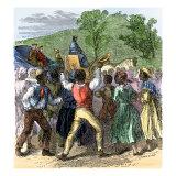 Thomas Jefferson's Return to Monticello from Paris, 1789 Giclee Print