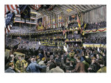 Republican Convention Nominating Benjamin Harrison in the Auditorium, Chicago, 1888 Giclee Print