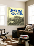 John Lee Hooker - The Country Blues of John Lee Hooker Muurposter
