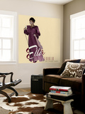 Ella Fitzgerald - The Concert Years Wall Mural