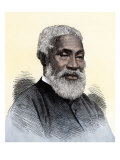 "Josiah Henson, the Black Slave Alleged to Have Been Harriet Beecher Stowe's Model for ""Uncle Tom"" Giclee Print"