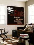 Land of Giants, McCoy Tyner, Bobby Hutcherson, Charnett Moffett, Eric Harland Wall Mural