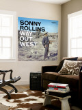 Sonny Rollins - Way Out West Mural