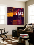 The Stax Story Wall Mural