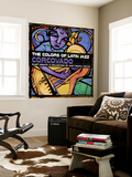 The Colors of Latin Jazz: Corcovado Wall Mural