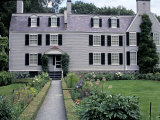 Home of John Adams and His Family, Now a National Historical Park, Quincy, Massachusetts Stampa fotografica