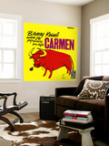 Barney Kessel, Japanese release of the Carmen Album Wall Mural