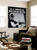 K.C. Douglas - Big Road Blues Wall Mural