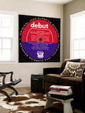 Debut Period Sampler Wall Mural