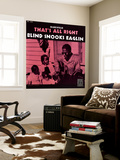 Blind Snooks Eaglin - That's All Right Muurposter