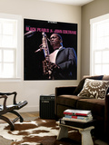 John Coltrane - Black Pearls Wall Mural