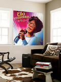 Ella Fitzgerald - All That Jazz Wall Mural
