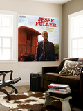 Jesse Fuller - Jazz, Folk Songs, Spirituals and Blues Mural