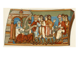 Naming the Child Who Became Saint John the Baptist Giclee Print
