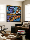 The Colors of Latin Jazz Sabroso! Premium Wall Mural