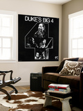 Duke Ellington - Duke's Big Four Wall Mural