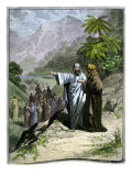 Lot Taking His Family to Sodom, and Bidding Goodbye to Abraham Giclee Print