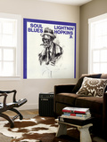 Lightnin' Hopkins - Soul Blues Muurposter